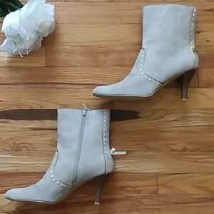 Predictions Stone Ryann Booties with Bow